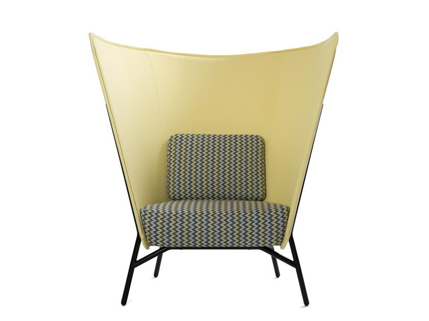 Easy chair high-back AURA CHAIR L by Inno