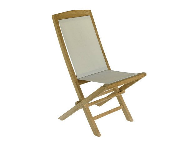 Folding wooden garden chair TENNIS | Folding garden chair by Il Giardino di Legno