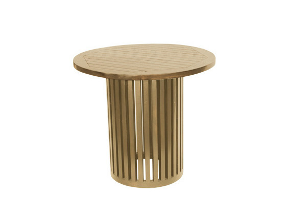Round wooden garden table TENNIS | Round garden table by Il Giardino di Legno