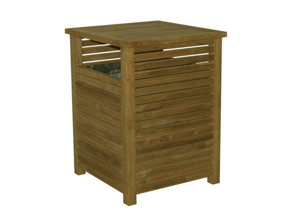 Outdoor Wooden Litter Bin