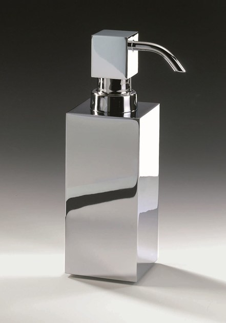 Chrome plated liquid soap dispenser DW 395 by DECOR WALTHER