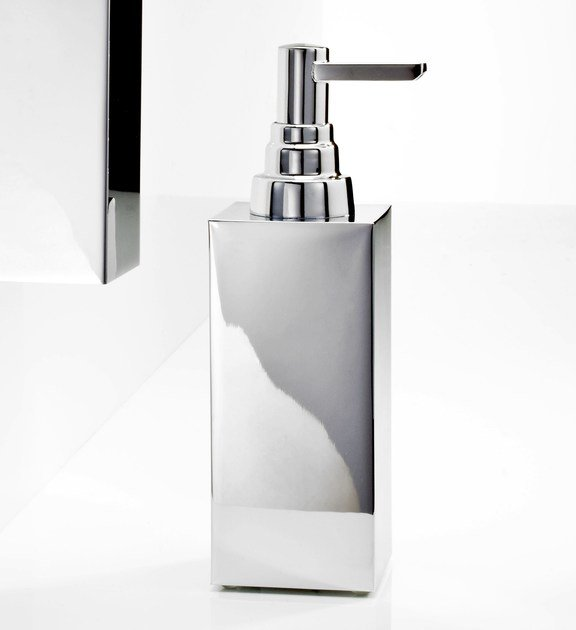 Chrome plated liquid soap dispenser DW 360 by DECOR WALTHER