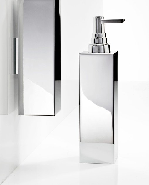 Chrome plated liquid soap dispenser DW 315 by DECOR WALTHER