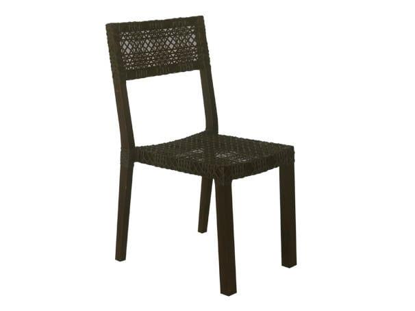 Synthetic fibre garden chair KROSS   Garden chair by Il Giardino di Legno