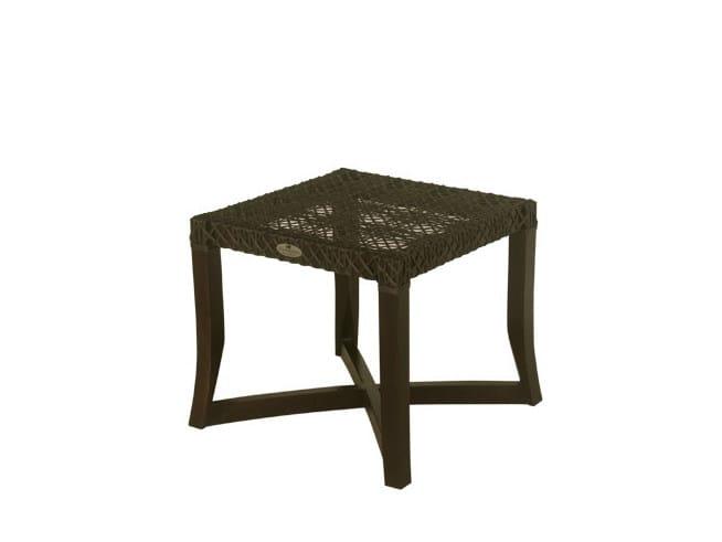 Garden pouf / garden side table KROSS   Garden footstool by Il Giardino di Legno