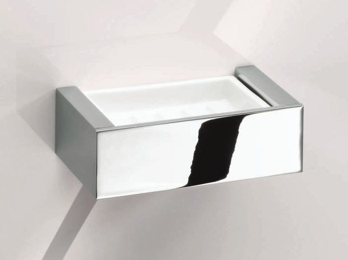 Wall-mounted soap dish BK WSS by DECOR WALTHER
