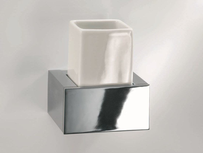 Chrome plated toothbrush holder BK WMG by DECOR WALTHER