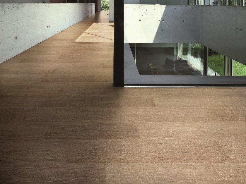 Ultra thin Techlam® flooring with wood effect MADEIRA ROBLE by Levantina