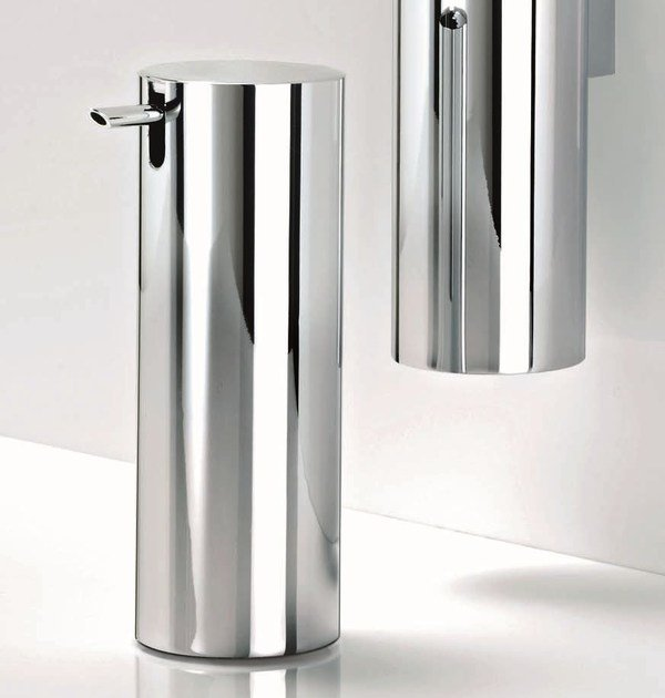 Chrome plated liquid soap dispenser TB SSP by DECOR WALTHER