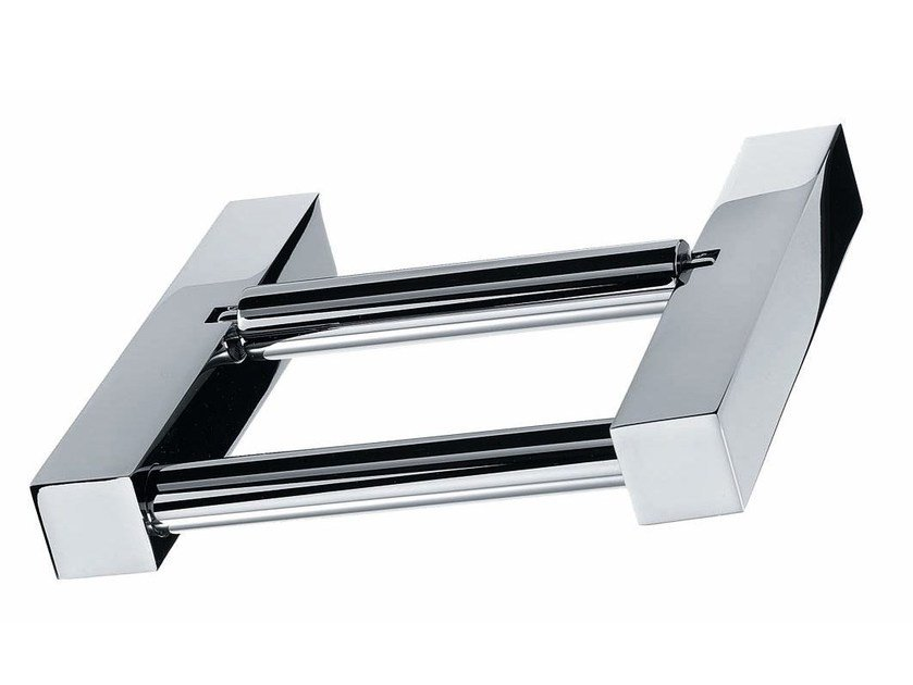 Chrome plated toilet roll holder BQ TPH5 by DECOR WALTHER
