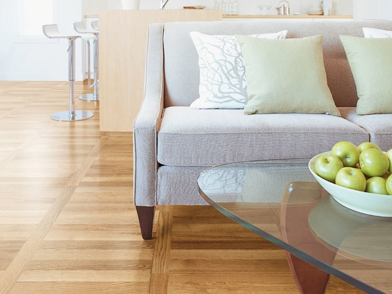 Multi-layer wood parquet SEVEN by Woodco