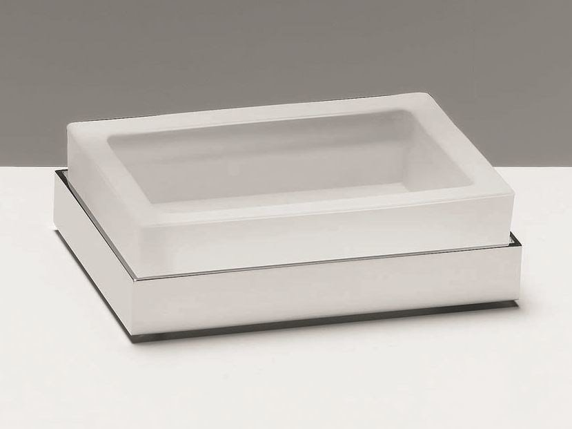 Countertop soap dish CO STS by DECOR WALTHER