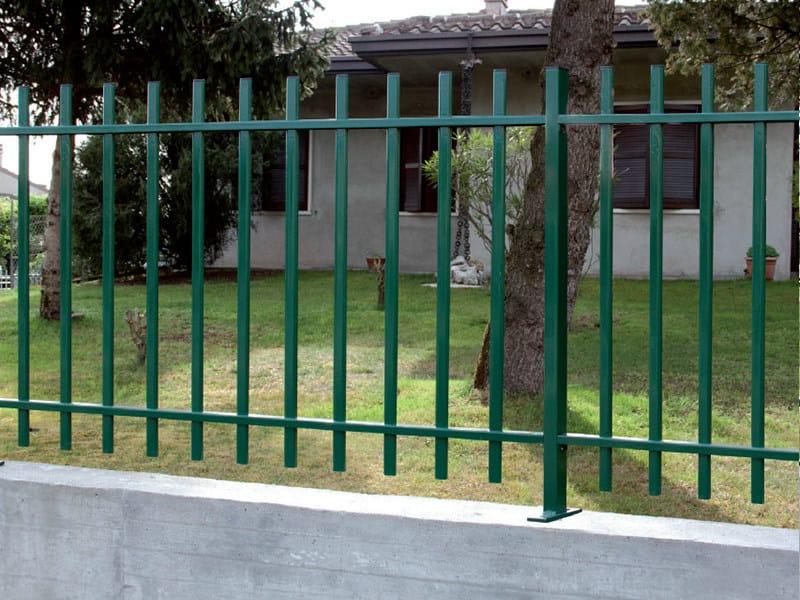 Bar modular iron Fence OVALE by CMC