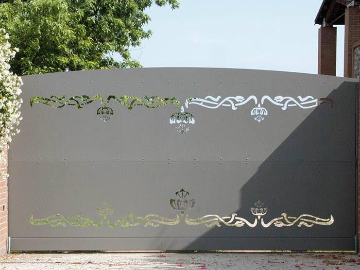 Sliding iron gate PRESTIGE by CMC
