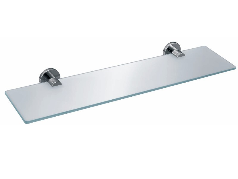 Glass bathroom wall shelf BA GLA60 by DECOR WALTHER