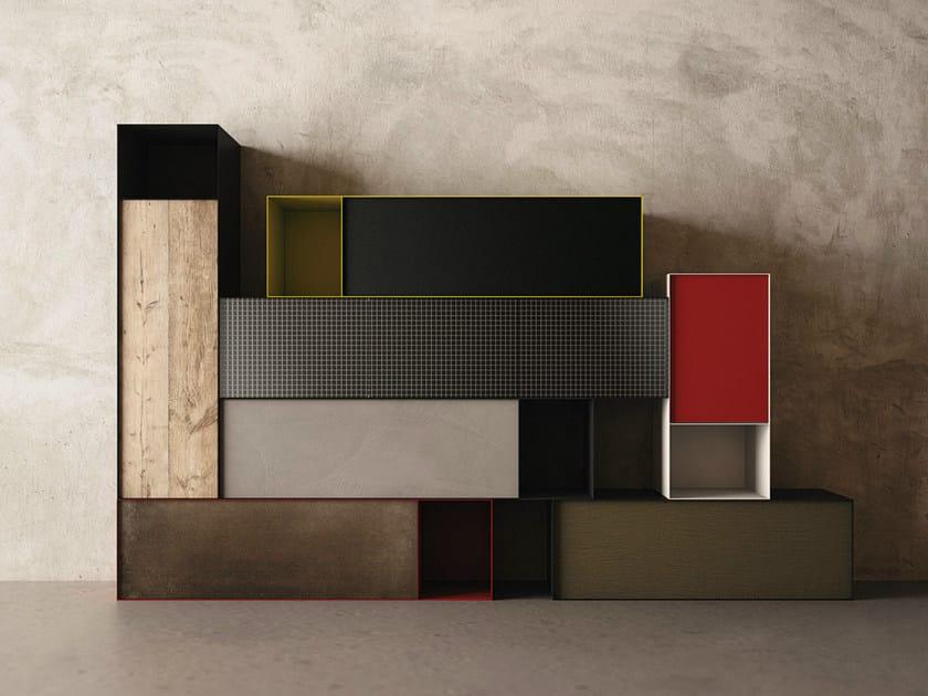 Modular storage wall ZERO20 | Storage wall by Moab80