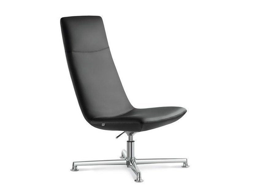 Height-adjustable high-back executive chair with headrest SKY | Executive chair with headrest by LD Seating