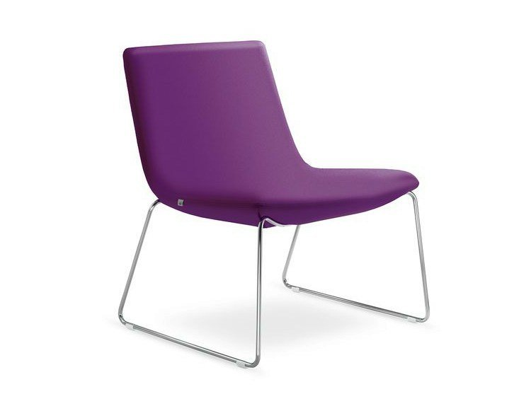 Sled base upholstered easy chair SKY | Sled base easy chair by LD Seating