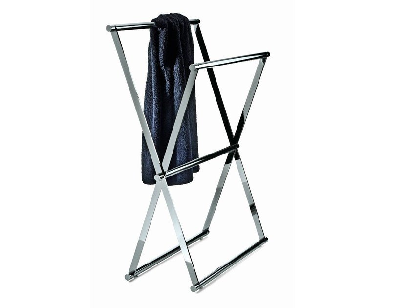 Standing towel rack CROSS 2 by DECOR WALTHER