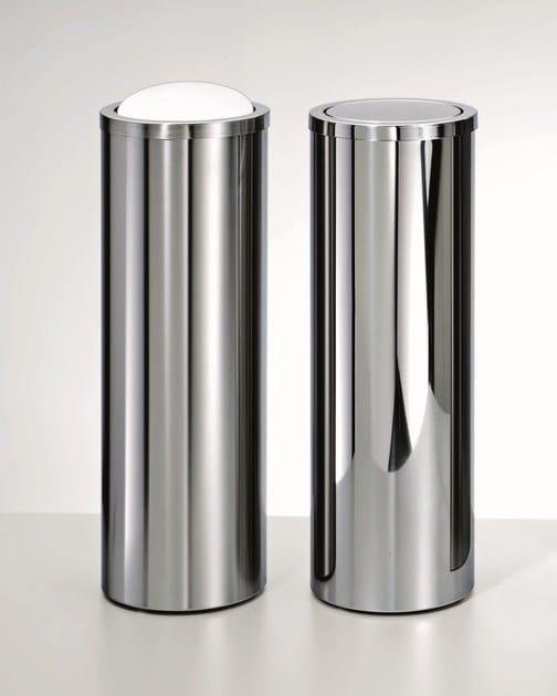 Steel bathroom waste bin DW 1024 by DECOR WALTHER