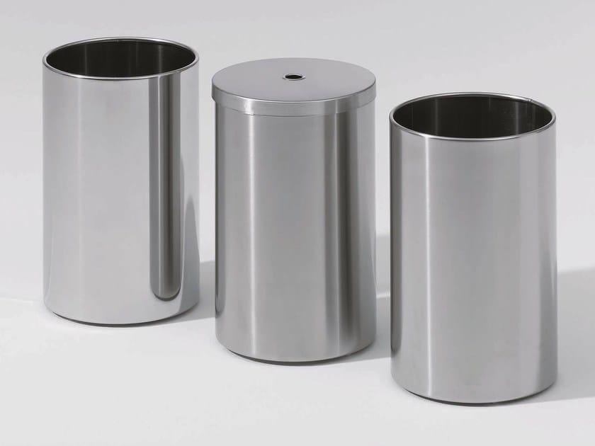 Steel bathroom waste bin DW 104 by DECOR WALTHER