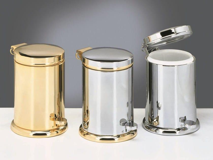 Pedal bin brass TE 37 by DECOR WALTHER
