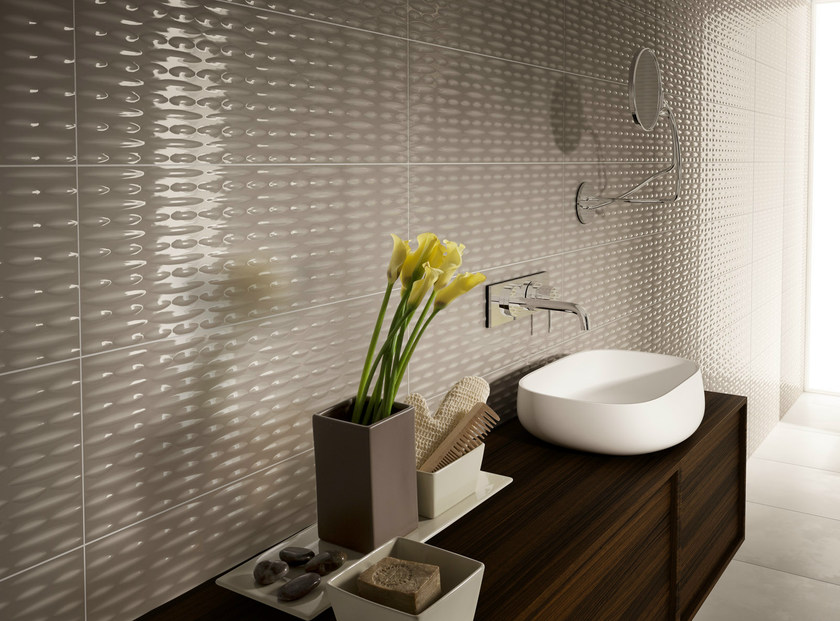 Indoor double-fired ceramic wall tiles EQUILIBRI by Ceramica d'Imola