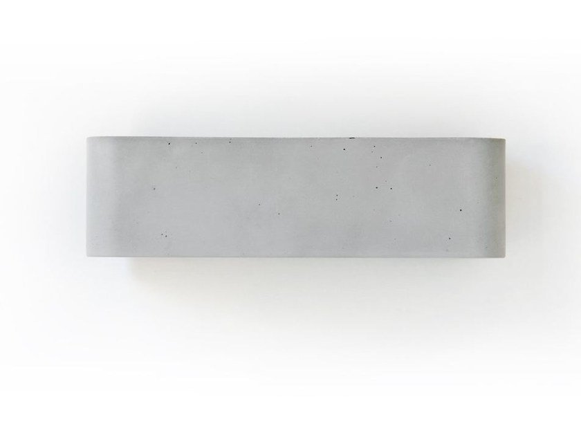 Cement wall lamp LUCE10 by Moab80