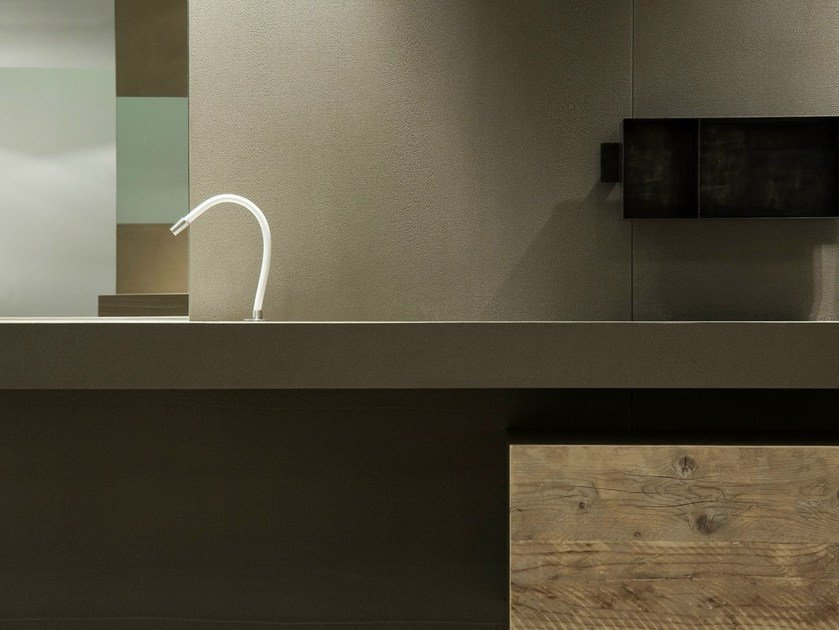 Prefinito Calce® washbasin countertop PREFINITO CALCE | Washbasin countertop by Moab80
