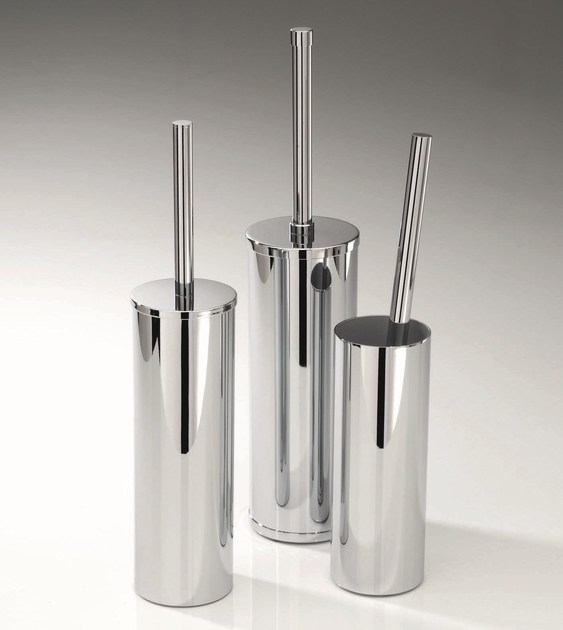 Chrome plated toilet brush DW 85 by DECOR WALTHER