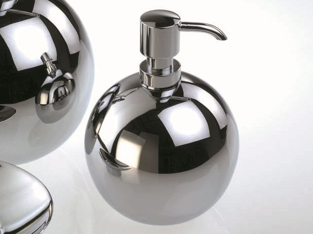 Chrome plated liquid soap dispenser DW 405 by DECOR WALTHER