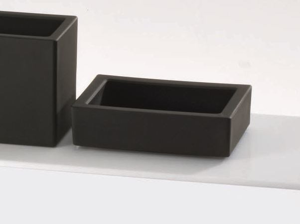 Countertop porcelain soap dish DW 971 by DECOR WALTHER