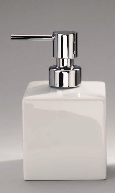 Porcelain liquid soap dispenser DW 520 by DECOR WALTHER