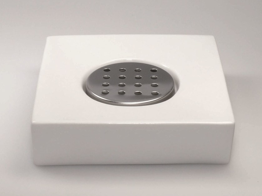Countertop porcelain soap dish DW 604 by DECOR WALTHER