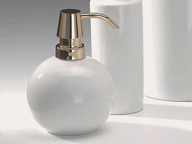 Porcelain liquid soap dispenser DW 480 by DECOR WALTHER