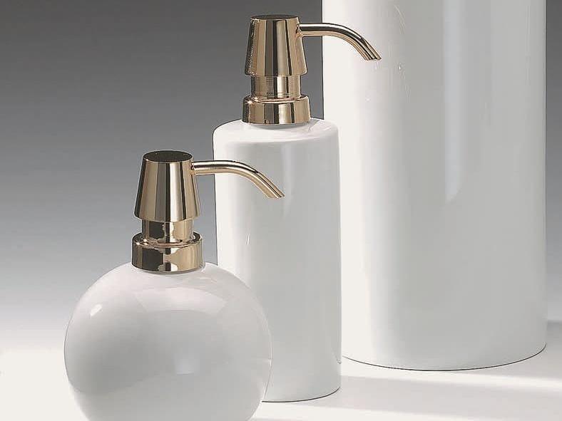Porcelain liquid soap dispenser DW 6350 by DECOR WALTHER