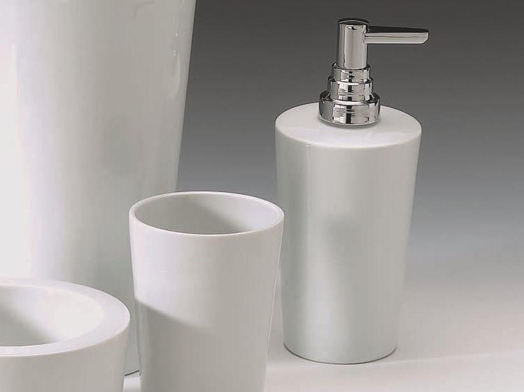 Porcelain liquid soap dispenser DW 590 by DECOR WALTHER