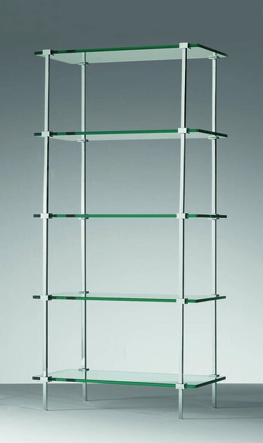 Tall tall glass bathroom cabinet T 25 by DECOR WALTHER