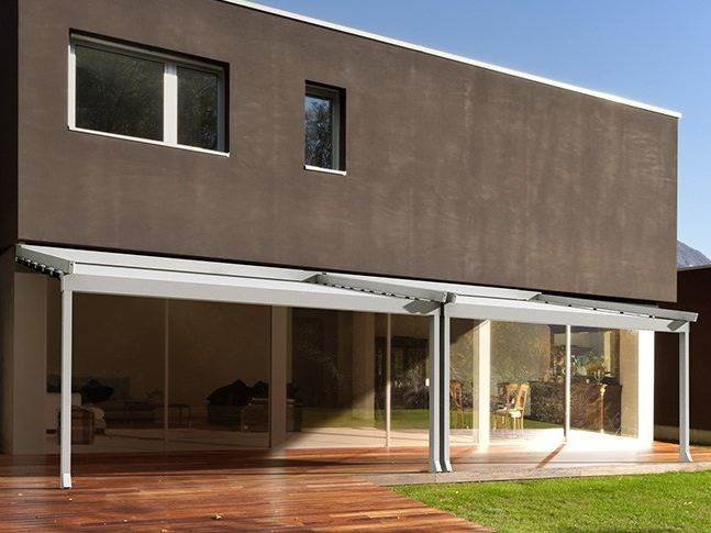 Sliding awning with guide system A100 | Awning by KE Outdoor Design