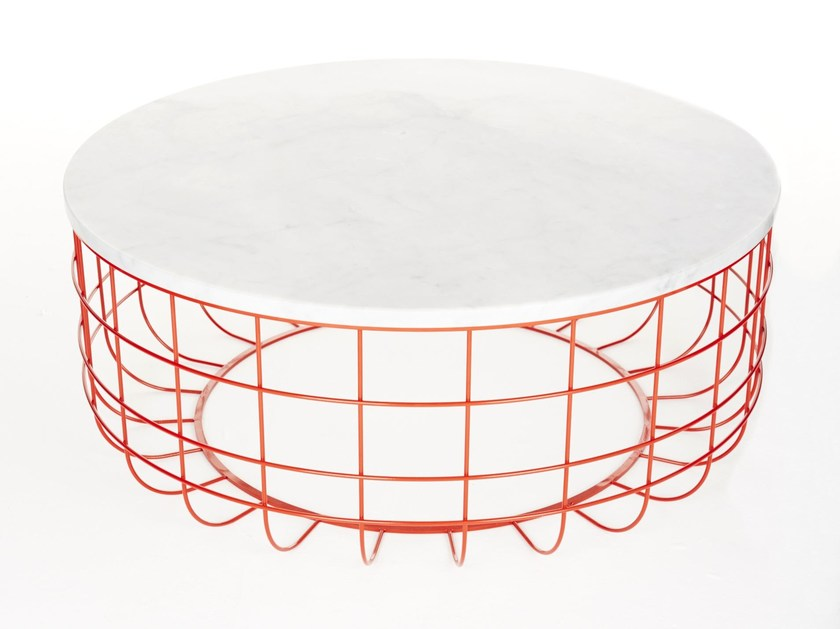 Low coffee table for living room WIRE | Low coffee table by Dare Studio