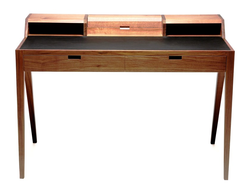 Walnut secretary desk KATAKANA | Secretary desk by Dare Studio
