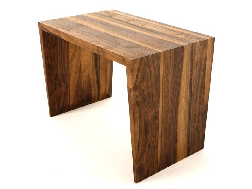 Rectangular walnut coffee table for living room MONARCH by Dare Studio