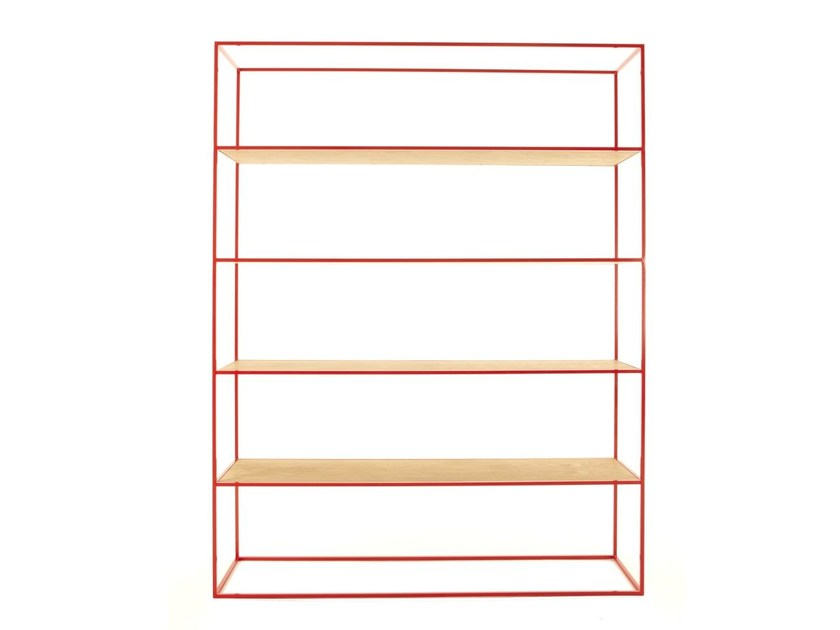 Open freestanding double-sided bookcase STRAND | Bookcase by Dare Studio