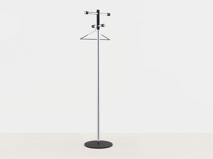 Chrome plated steel coat stand POM by MOX