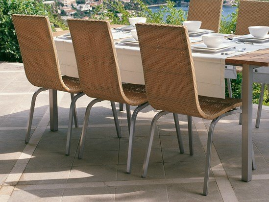 Stackable garden chair SAMBA | Garden chair by Roberti Rattan