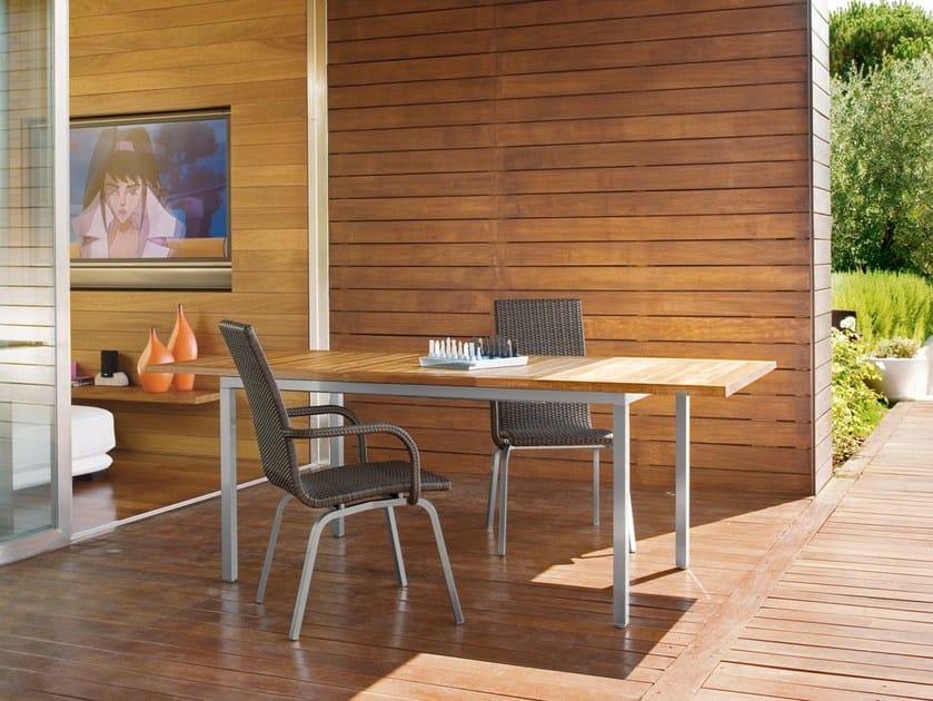 Rectangular teak garden table SAMBA | Rectangular garden table by Roberti Rattan