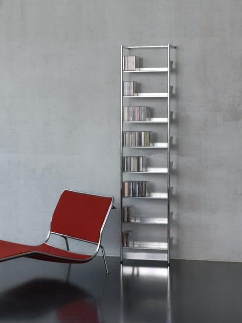 powder coated steel CD rack CD POOL By MOX