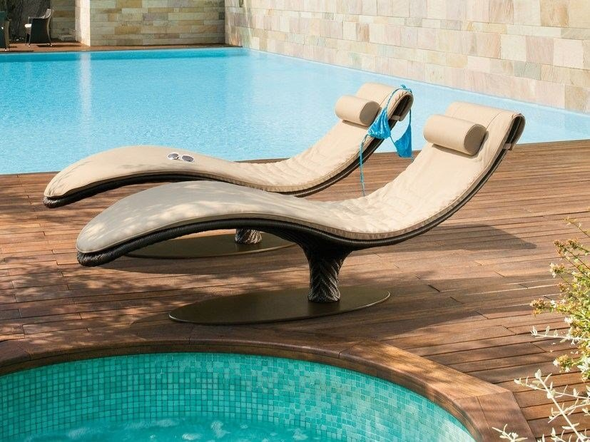 Aluminium garden daybed CARIBE | Garden daybed by Roberti Rattan