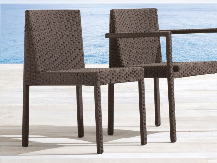 Stackable aluminium garden chair SAINT TROPEZ | Garden chair by Roberti Rattan