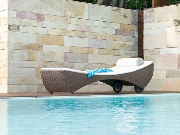 Aluminium garden daybed SAINT TROPEZ | Garden daybed by Roberti Rattan